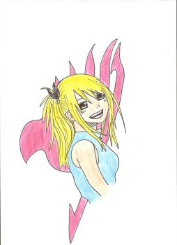 Lucy- Fairy Tail by Paulina135