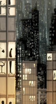 Golden cages by PascalCampion