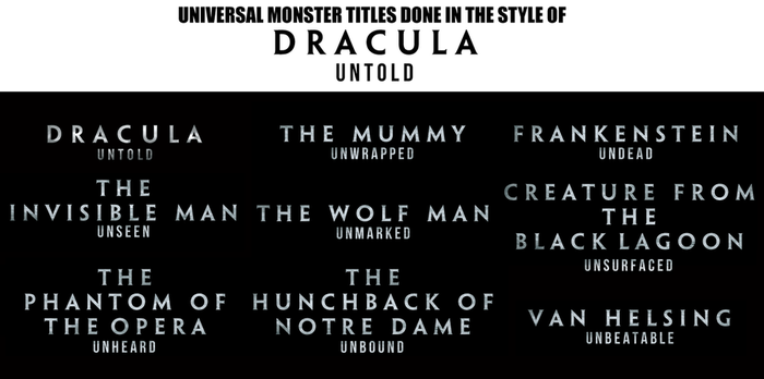Dracula Untold Titles by Jarvisrama99