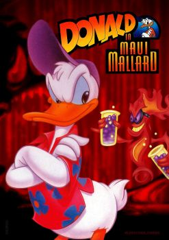 Donald in Maui Mallard poster by nasikan
