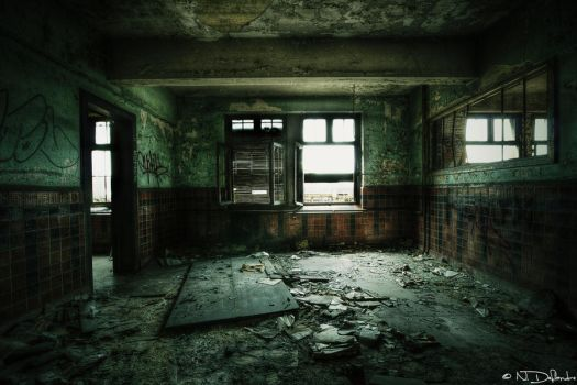 Decaying Room by Nichofsky
