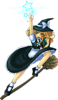 Marisa the magician by omegalife