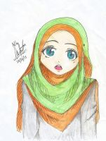 HIJAB GIRL by foxynesofwanah