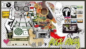 Rock PNG's by photosoma