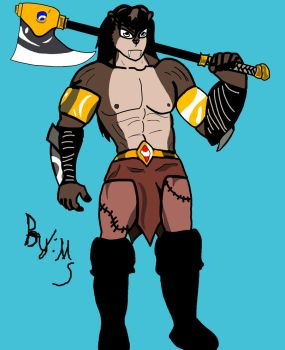 Sigric the Barbarian by Micheal81shadilver