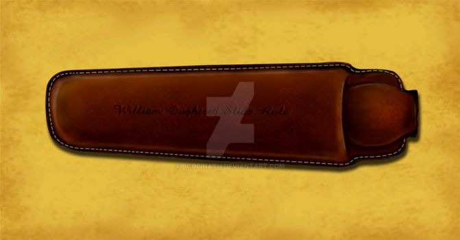 slide rule pouch by bgopinath