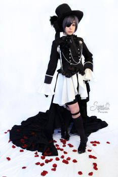 Ciel Phantomhive- The Young Master, Dapper by BlackRoseMikage