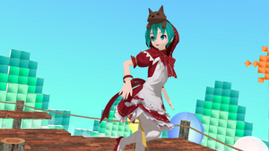 DT Hatsune Miku Hood + Clover Club Stage DL by Haruhi-chan4ever