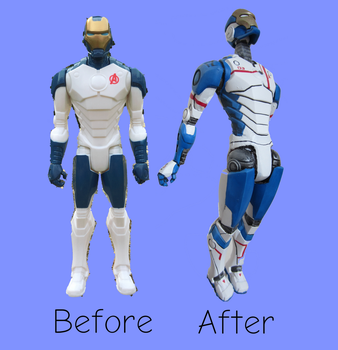 Before and After Iron Legion by PipHampton