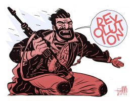 REVOLUTION by Andrew-Ross-MacLean