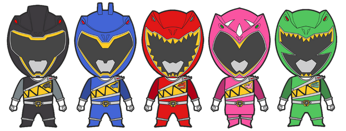 Power Rangers Dino Charge-Zyuden Sentai Kyoryuger by Lysergic44