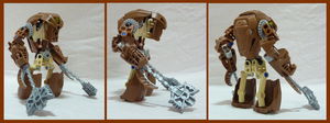 Bionicle MOC - Golem by Alex-Darkrai
