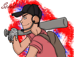 TF2 - The Scout by La-Mishi-Mish on DeviantArt