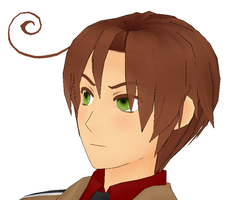 MMD Romano by lizzy-dark-rose