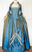 18th Century Gown update by AlAlNe
