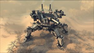 Spartan (mobile fortress) R4 by Avitus12
