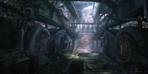 Abandoned Plant concept 1 by Shue13