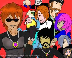 SkyDoesMinecraft and The Crew by Shadow42225