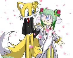 Tails and Cosmo Wedding by HezuNeutral
