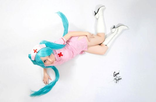 Hatsune Miku - Nurse - Vocaloid by GeniMonster
