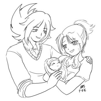 Our Little Family by mandy-kun