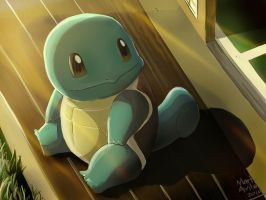 Pokemon: Squirtle by mark331