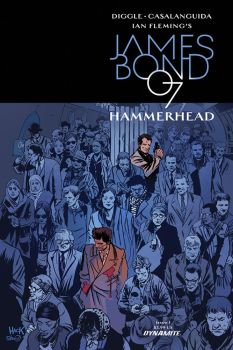 James Bond: Hammerhead #1 variant cover by RobertHack