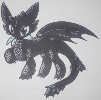 (AT) Toothless by arteest76