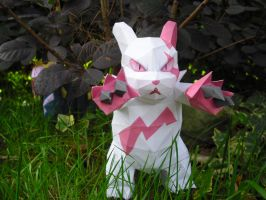 Zangoose papercraft by TimBauer92