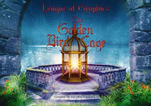 (wattpad banner) The Golden Bird Cage by jLpanganiban