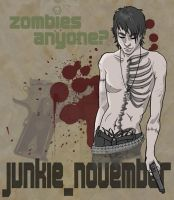 Zombies anyone? by junkie-november