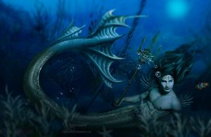 Male Mermaid by annemaria48