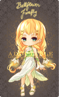 [ADOPTABLE] Bell-flower Firefly : OVER by Sunflorii