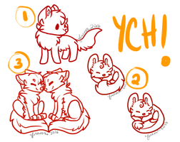 YCH Slots #1 OPEN AGAIN ! by Crestfeather