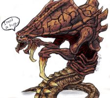 Hug the Hydralisk by admiral-squee