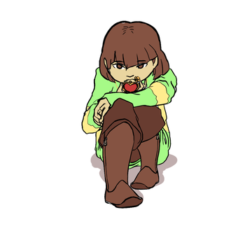 2016-01-03-Undertale Chara by Mahotou