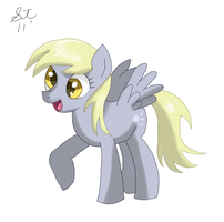 Derpy Hooves/ Ditzy Doo by TenshiHoshino