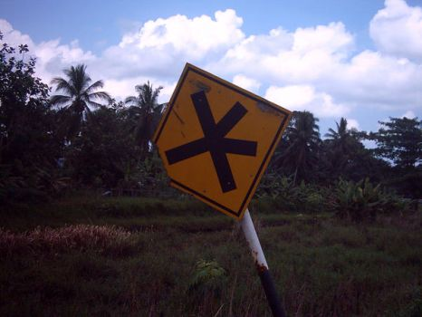 Malaysian road sign 2 by southernmari