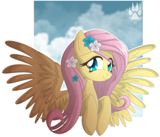 Animu Fluttershy by NabbieKitty