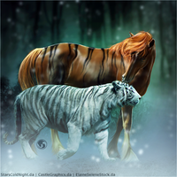 HEE Horse Avatar - Winter Tiger by art-equine