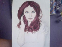 Bonnie Wright by DNA-The-Authoress