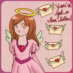 Love letters for my Valentine by Mistery-forever