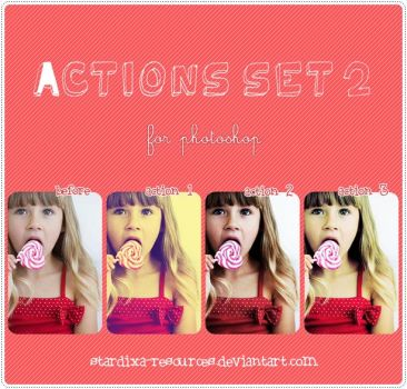 Actions set 2 by stardixa-resources
