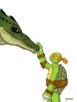 How to Train Your Gator by angelinoshi