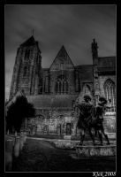 Church of our Lady BW by Klek