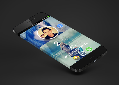 Iphone6 Theme cm10 by vieri7