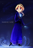 Teen Elsa by lalitterboxes