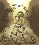 Toph Beifong WIP by Manasurge