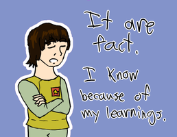 Doctor Who - Adric's Learnings by PrincessHannah