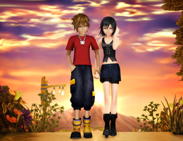 Two Years Later - Sora/Xion by SorasPrincesss